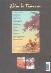 Alim le tanneur t.2 ; le vent de l'exil - 4ème de couverture - Format classique