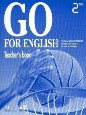 Go For English 2nde / Livre Du Professeur (Afrique Centrale) - Couverture - Format classique
