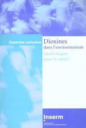 Dioxines dans l'environnement ; quels risques pour la santé ? - Intérieur - Format classique