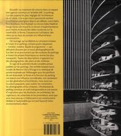 L'architecture du parking - 4ème de couverture - Format classique