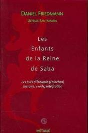 Enfants De La Reine De Saba (Les) - Couverture - Format classique