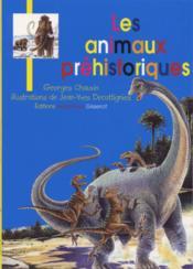 Les animaux prehistoriques - Couverture - Format classique