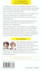 Compassion Pour Seul Bagage (La) N.84 - 4ème de couverture - Format classique