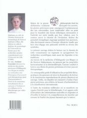 Les Pierres Precieuses - Source D'Energie Vibratoire - 4ème de couverture - Format classique