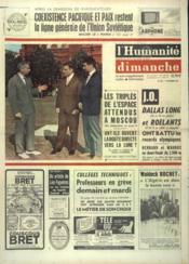 Humanite Dimanche (L') N°843 du 18/10/1964 - Couverture - Format classique