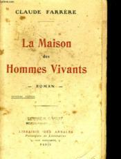 La Maison Des Hommes Vivants 7eme Edition - Couverture - Format classique