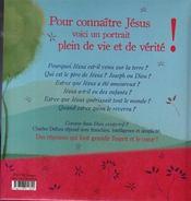 Jésus - 4ème de couverture - Format classique