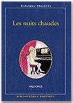 Bibliotheque Erotique T.167 ; Les Nuits Chaudes - Couverture - Format classique