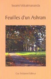 Feuilles D'Un Ashram - Intérieur - Format classique
