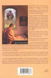 Feuilles D'Un Ashram - 4ème de couverture - Format classique