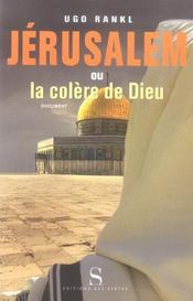Jerusalem Ou La Colere De Dieu - Intérieur - Format classique