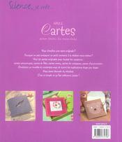 Mes Cartes Pour Toutes Les Occasions - 4ème de couverture - Format classique