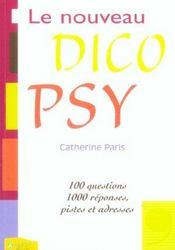 Nouveau Dico Psy (Le) - Intérieur - Format classique