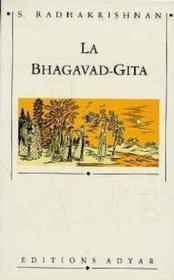 Bhagavad-Gita - Couverture - Format classique