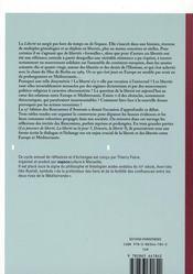 Liberté, libertés, entre Europe et Méditerranée - 4ème de couverture - Format classique