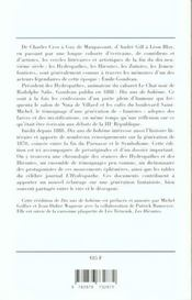 Dix Ans De Boheme - 4ème de couverture - Format classique