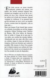 Dojnaa - 4ème de couverture - Format classique