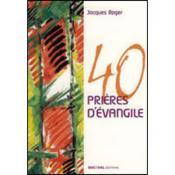 40 prières d'évangile - Couverture - Format classique