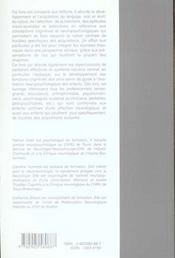 Neuropsychologie De L'Enfant : Une Introduction - 4ème de couverture - Format classique