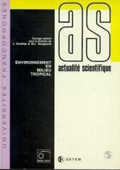 Environnement En Milieu Tropical - Couverture - Format classique