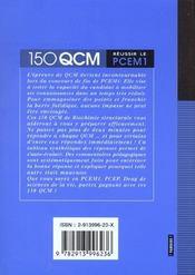 Biochimie Structurale Reussir Le Pcem 1 - 4ème de couverture - Format classique