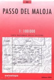 Passo del Maloja ; 44 - Couverture - Format classique