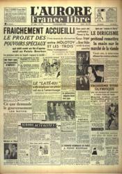 Aurore France Libre (L') N°1213 du 07/08/1948 - Couverture - Format classique