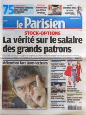 Parisien 75 (Le) N°20992 du 10/03/2012 - Couverture - Format classique