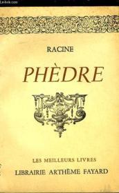 Phedre - Couverture - Format classique