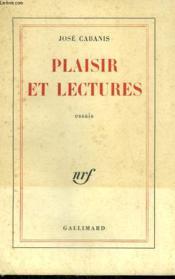 Plaisir Et Lectures. - Couverture - Format classique