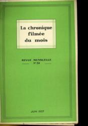 La Chronique Filmee Du Mois N°39 - Couverture - Format classique