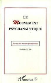 Le mouvement psychanalytique (édition 1998) - Couverture - Format classique