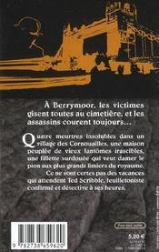 Les Ensorceles De Berrymoor - 4ème de couverture - Format classique