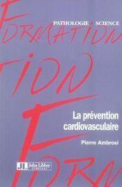 La prévention cardiovasculaire - Intérieur - Format classique