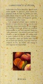 L'Abricotier Et Le Pecher - 4ème de couverture - Format classique