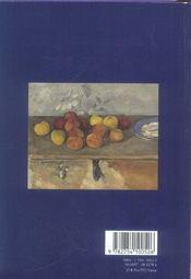 Le journal de Cézanne - 4ème de couverture - Format classique