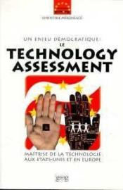 Un Enjeu Democratique : Le Technology Assessment - Couverture - Format classique
