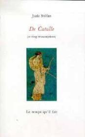 De Catulle - Couverture - Format classique
