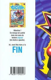 Yu-Gi-Oh t.7 - 4ème de couverture - Format classique