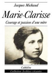 Marie-Clarisse - Couverture - Format classique