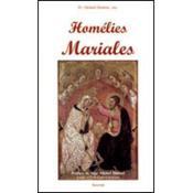 Homélies mariales - Couverture - Format classique