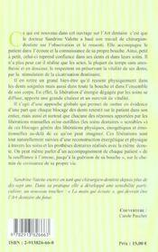 Guerison De La Bouche - 4ème de couverture - Format classique