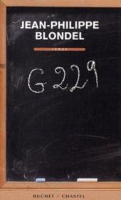 G229 – Jean-Philippe Blondel