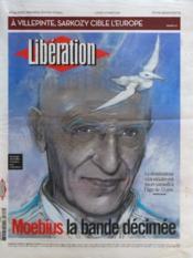 Liberation N°9590 du 12/03/2012 - Couverture - Format classique