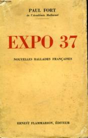 Expo 37. Nouvelles Ballades Francaises. - Couverture - Format classique