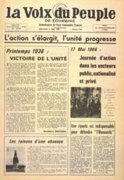 Voix Du Peuple De Touraine (La) N°1293 du 08/05/1966 - Couverture - Format classique