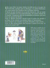 Les petits brazidec ; lilette leveille a craboville - 4ème de couverture - Format classique