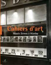 Cahiers D'Art Musee Zervos A Vezelay - Couverture - Format classique