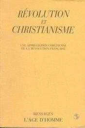 Revolution Et Christianisme - Couverture - Format classique