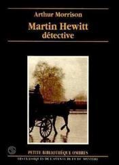 Martin Hewitt, détective - Couverture - Format classique